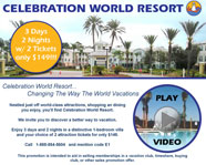 Celebration World Resort Email Blast